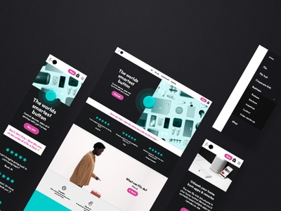 Flic web design website web tech webdesignagency landingpage startup flic button ux web design webdesigner most studios most ui webdesign