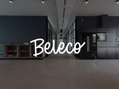 Beleco Logo script font identity logo