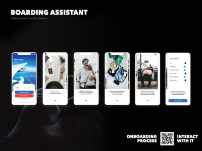 Boarding Assistant - Onboard process