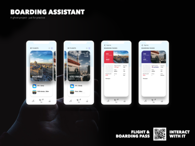 Boarding Assistant - Travels and boarding pass