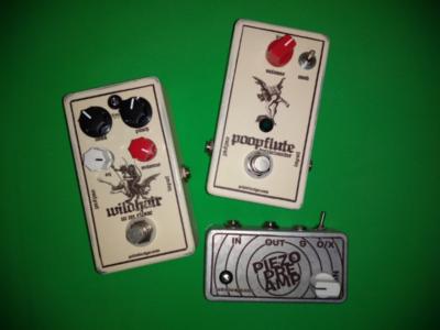 Guitar pedal designs