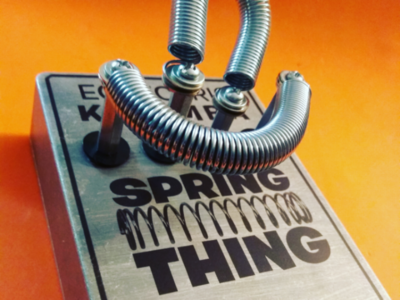 Spring Thing label design