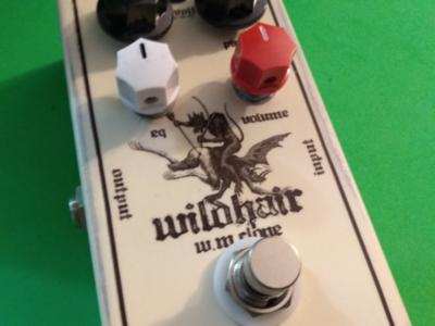 WildHair fuzz pedal design