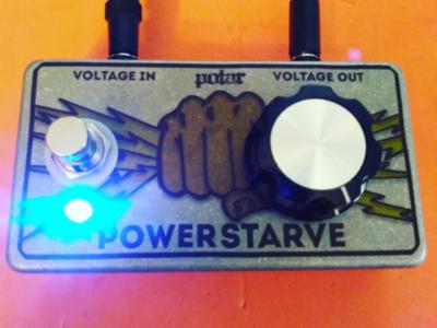 Powerstarve effect pedal design