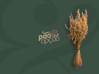 Pão & Opção | Branding & Visual Identity 01 look and feel logo design branding design branding concept branding and identity branding brand identity brand design brand