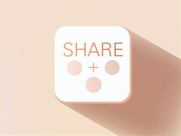 Flat Icon Share