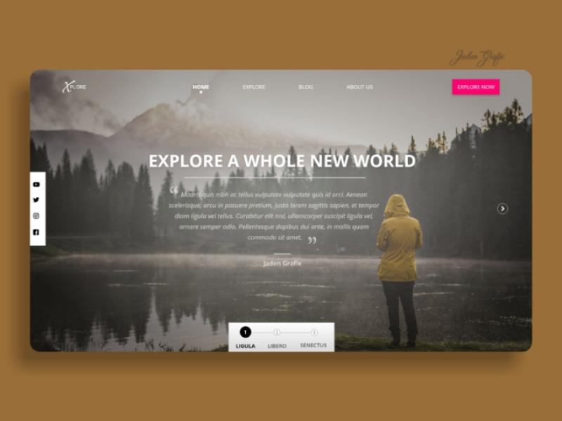 Landing page screen | UI Design ui uiux uidesign uxdesign