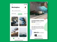 Marketplace App UI
