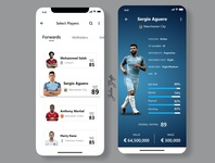 Soccer App UI