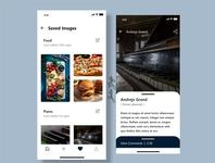 Online Photo Gallery UI