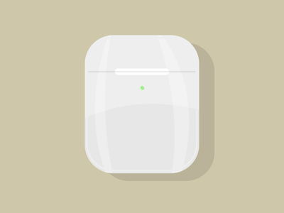 Airpods vector design illustration