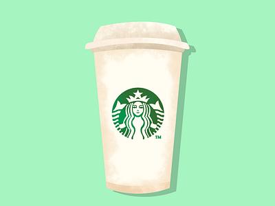 Starbucks vector illustration design