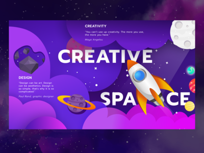 Creative Space Illustration