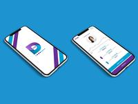 Payment App Splash & Balance Screens