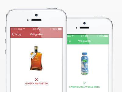 What can I drink? app application iphone simple clean user interface ui user interface