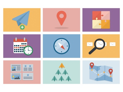 Onboarding icons email marketing customer journey saas design marketing onboarding iconography icons vector email design email illustration