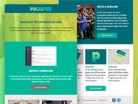 Prosper email newsletter