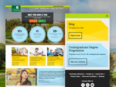 UVM template designs for Study Group university education design web modules