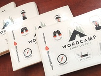WordCamp Stickers