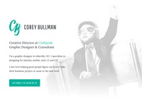 Bullman Design V4 - Homepage Hero