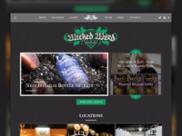 Wicked Weed Homepage Large Screen