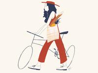 City Biker Girl