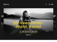 AS Galerija - web page