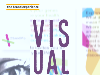 The Brand Experience: Visual