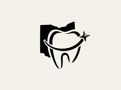 Complete Smiles dentistry medical logo tooth orthodontics dental logo