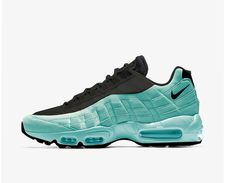 N95 BY SJE NIKE AIR MAX 95 CONCEPT 2020 vector animation web illustration typography logo design illustrator branding app