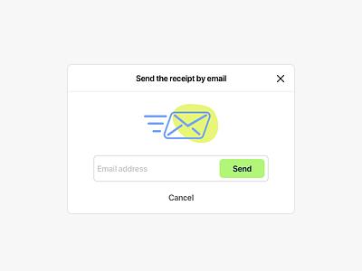 POS • PopUp illustration receipt app popup email illustration pos