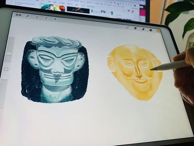 Mask of Sanxingdui&Agam-emnon