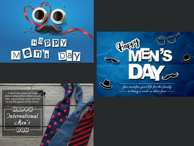 Men's Day Special Emailer