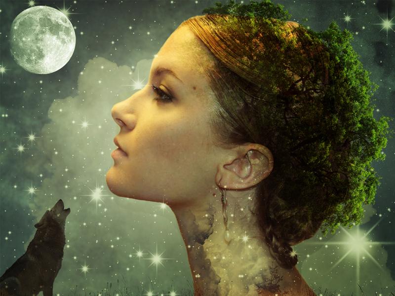 Fantasy Photo Nature Manipulation design