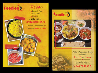 Flyers for different Occasion for a Food Joint