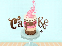 Colorful Cake Illustration