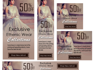 Web Banner for Cloth Brand