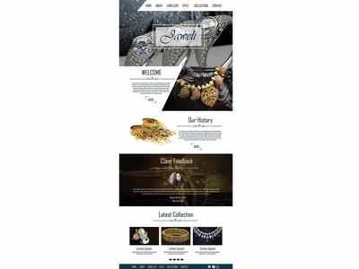 Jewelery Website Template