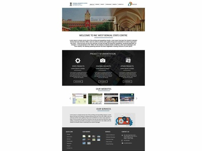 Government Website Template