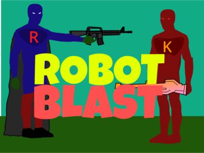 Robot Blast Thumbnail blast robot scratch