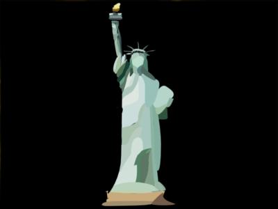 Statue Of Liberty Blockshade