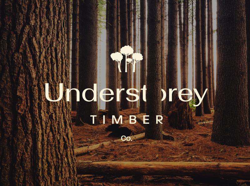 Understorey Timber Co. photoshop brand identity brand identity startup mark logomark nature forest trees tree woodworking woods illustrator graphicdesign icon logo branding