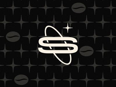 Solar | Mark solar logomark orbit logo design coffee bean coffee shop pattern modern cafe coffee star space design brand s typography logo mark icon branding