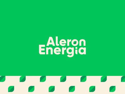 Alegron Energia | Logo + Branding Pattern