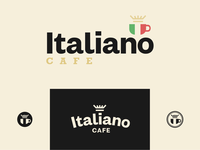 Italiano Cafe   Logo Concept