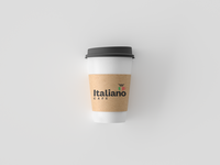 Italiano Cafe | Coffee Cup Mockup