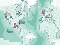 Explorer map