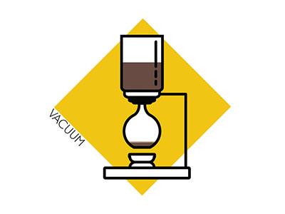 Coffee Icons: Vacuum