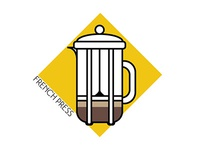 Coffee Icons: French Press