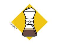 Coffee Icons: Chemex